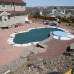 Back Yard Pool Before